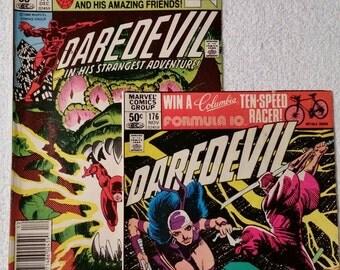 Daredevil #176 and 177