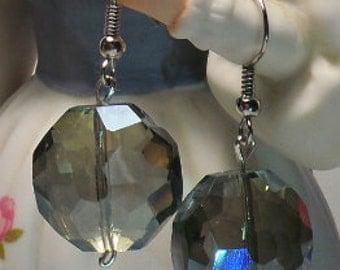 Amazing Blue earrings. something blue for the bridde, Crystal earrings,