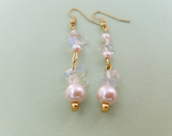 By The Sea Pearl Enchantment Earrings