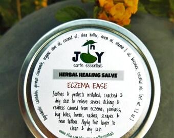 Herbal Healing Salve, Natural Salve, Calming Herbal Salve, Ezcema Relief, Soothing Balm, Severe Dry Skin, Rash, Irritated Skin, Bug Bites