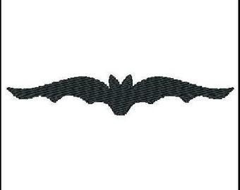 Fill Embroidery Design, Halloween, Bat, File, Digital, Download, Machine