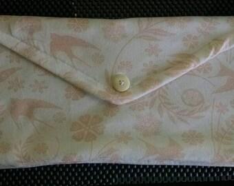Soft pink dove bag.