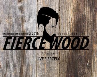 Fierce Wood Air Decor