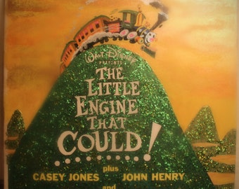 The Little Engine That Could Remixed LP Art