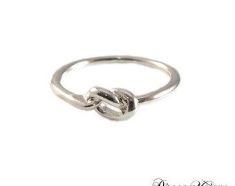 Knot Ring | Silver and Gold