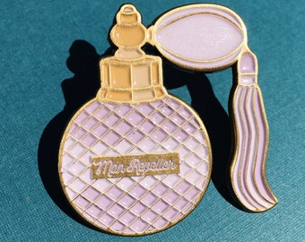Man Repeller Perfume Bottle Enamel Pin