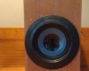 Powered Cigar Box Speaker - Looks great, Sounds AWESOME!
