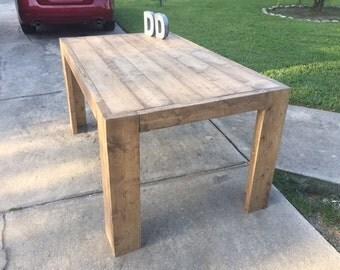 5ft Chunky Modern Farmhouse Table