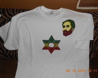 Haile Selassie With Solomon Seal