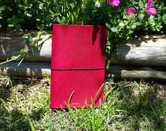 Standard Wide Tahitian Moon , Travelers Notebook, Fauxdori, Leather Travelers Notebook, Crisdori Studios, Standard Wide