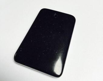 Black Stone Pendant - 1 Piece - #335