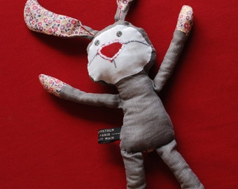 Bunny 'plush' fabric