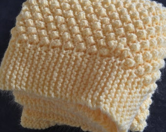 Baby crib Knit Blanket Custom