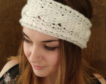 Cabled Earwarmer, Assorted Colors