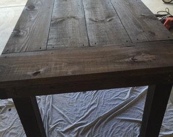 Indoor/Outdoor Farmhouse Table