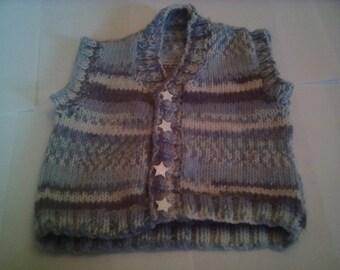 boys knitted waitcoat