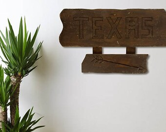 Texas sign. 50