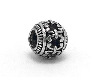 Retro Tibetan Bead Charm, fits Pandora Bracelets