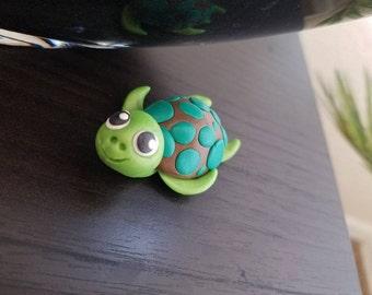 Big-eyed mini turtle