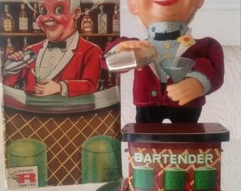 1960s bartender toy
