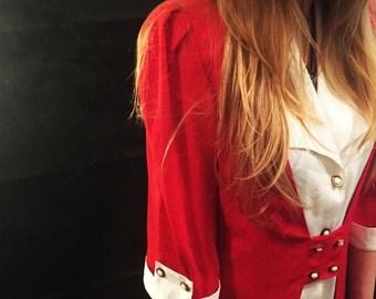 Vintage evening blouse