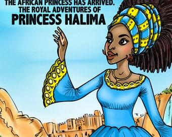 Princess Halima and The Kingdom Of Affia