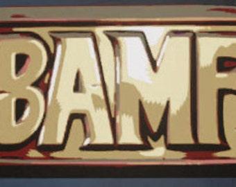 BAMF Mccree Belt emblem Overwatch props
