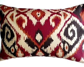 ikat pillow ikat pillow covers red ikat pillow ikat throw pillows cushion