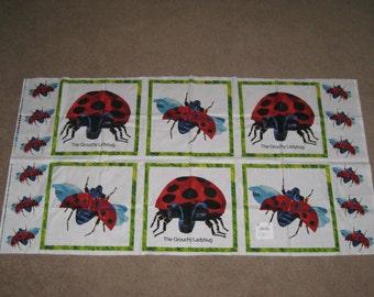 Grouchy Ladybug Fabric