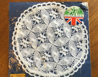 Genuine Nottingham lace doily