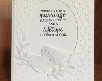 Wedding Birds card.