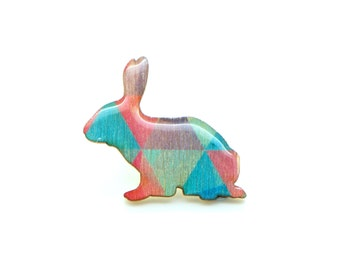 Rabbit Brooch - Banlung