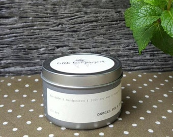 Nanna Nap - hand poured soy travel tin candle