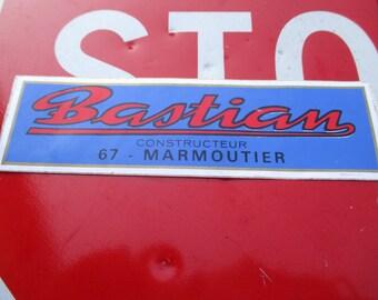 Great Bastian Constructeur Sticker, France