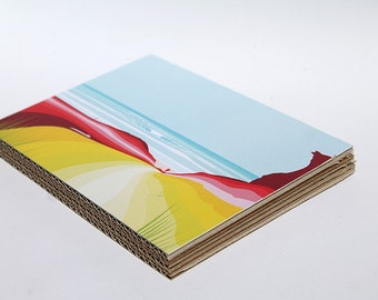A5 recycle paper board
