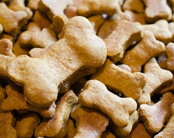 Organic Pumpkin Peanut Butter Dog Treats All natural and healthy!  8oz or 16oz