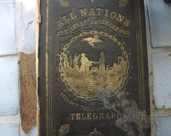 The World Geographical, Historical, and Statistical; by Charles C Savage - Very Rare