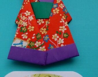 2 Handmade Origami Gueisha