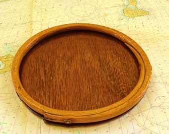 Antique Mast Hoop Trays