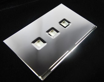 Silver Plated Business Card Holder (Free Engraving)
