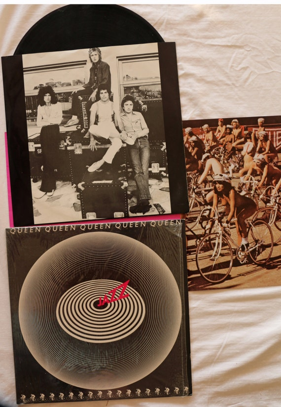 "Reina Jazz LP 12"" 33 1/3 (2 raras veces desnudo poster)"