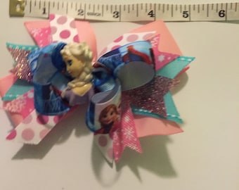 Pink and blue Party Bow
