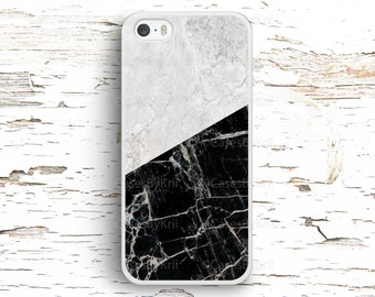 Black and White Marble Texture Case, iPhone 7 6S 6 SE 5S 5 5C 4S, Samsung Galaxy S6 Edge S5 S4 S3, LG G4 G3, Sony Xperia Z5 Z3, HTC One M8