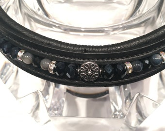 Night Themed Beaded Browband
