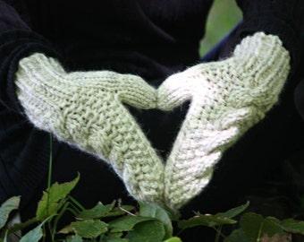 Extra warm mittens