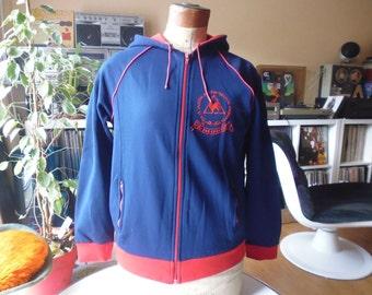 Sporty Rooster 1970's vintage hoodie/Sweatshirt