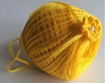 Sunflower Yarn Ball