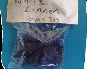 Incense, White Linnen