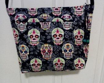 Sugar Skulls cross body bag