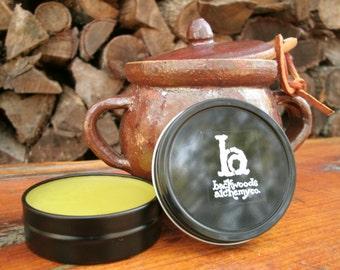 Healing Salve, Herbal, Organic, 1 oz or 2 oz tin, NEW Travel Size 1/4 oz, Comfrey, Calendula, St John's Wort, Plantain